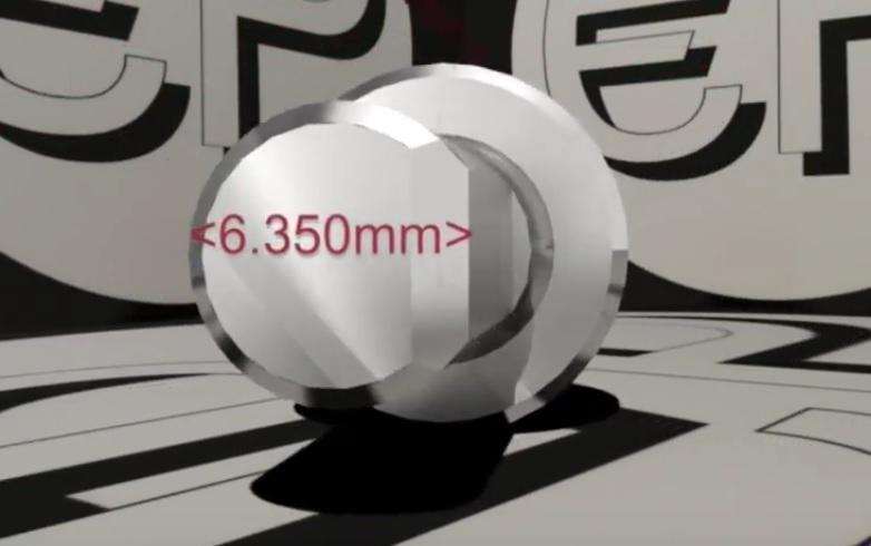 Đầu đo bi 1/16'' dùng cho máy đo độ cứng Rockwell của Future- Tech RBI008 Future-Tech