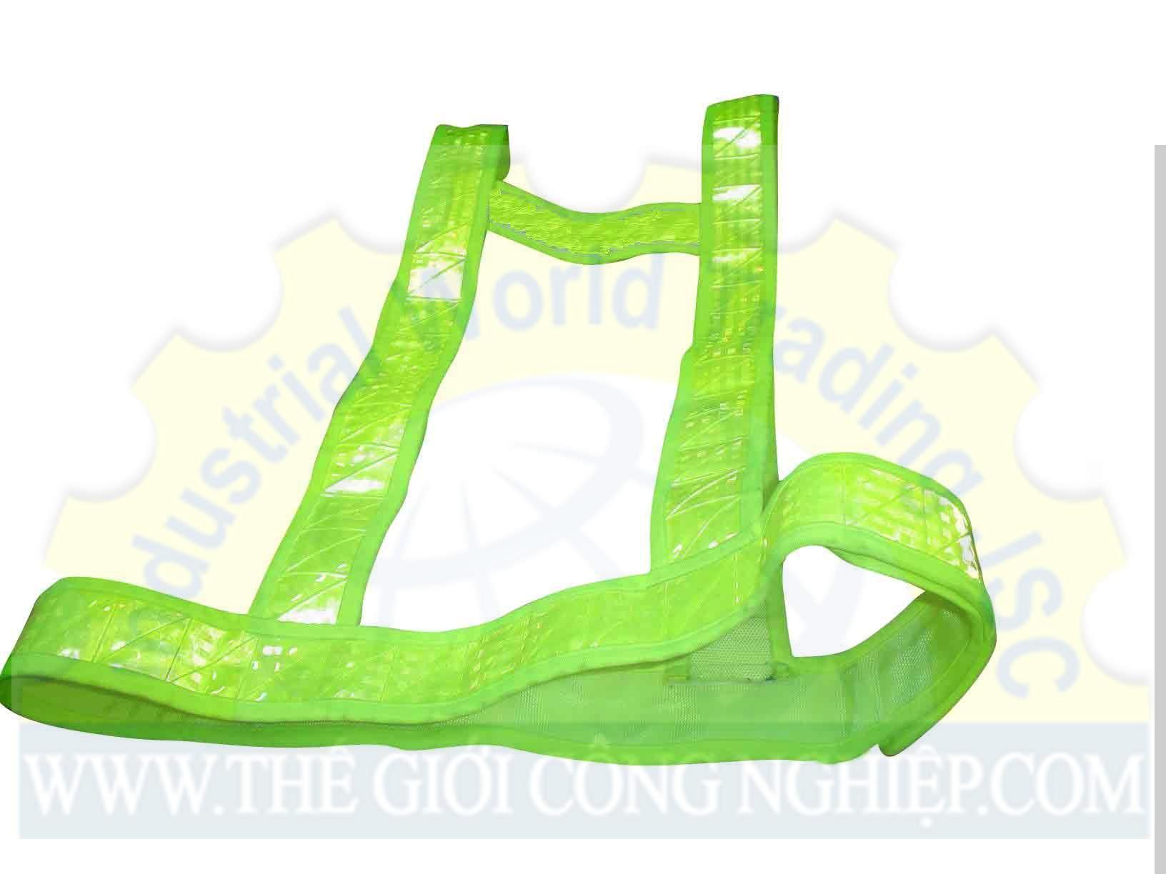 Áo phản quang dây xanh lá TGCN-11063 Vietnam