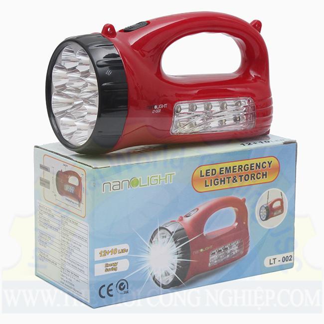 Đèn pin LED sạc LT-002 Nanolight