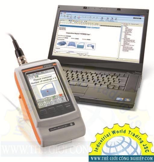 Máy đo độ dày lớp phủ (xi, mạ, sơn) cầm tay FMP150 DUALSCOPE Fischer