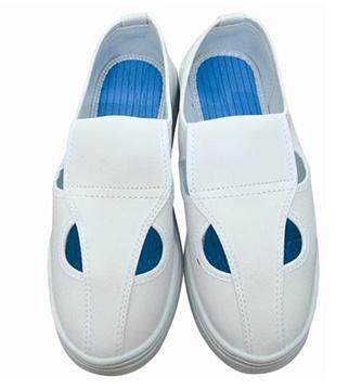 Giày phòng sạch chống tĩnh điện 4 lỗ màu trắng Asia Vietnam