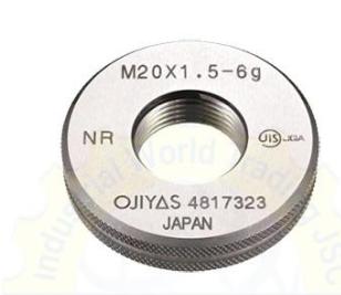 Dưỡng kiểm ren dạng vòng M17x1  6G Ojiyas
