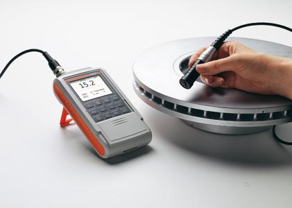 Máy đo độ dày lớp phủ (xi, mạ, sơn) cầm tay DUALSCOPE FMP40 Fischer