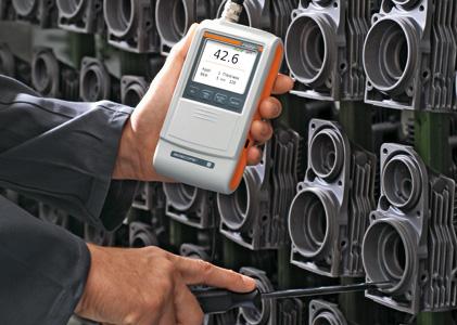 Máy đo độ dày lớp phủ (sơn, xi, mạ) cầm tay ISOSCOPE FMP10 Fischer