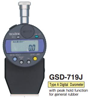 DIGITAL DUROMETER GSD-719J Teclock