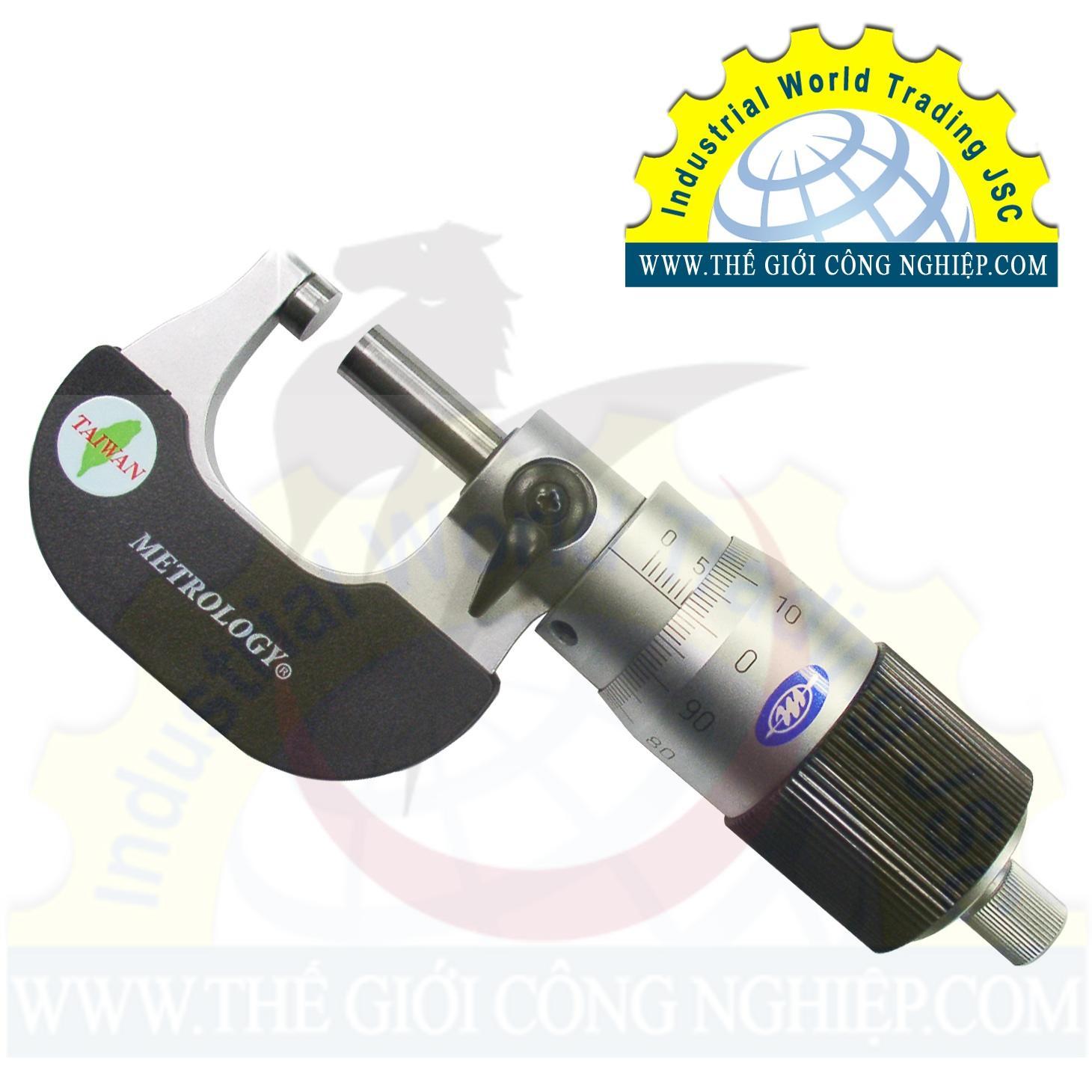 Outside Micrometer (100 Step Graduation) 50-75mm OM-9028 Metrology