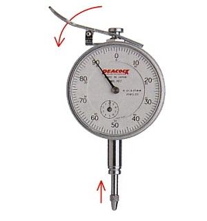 Standard dial gauges 107-LL PEACOCK