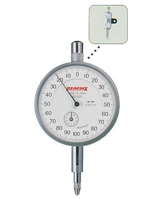 Standard Dial Gauges 2mm 25S PEACOCK