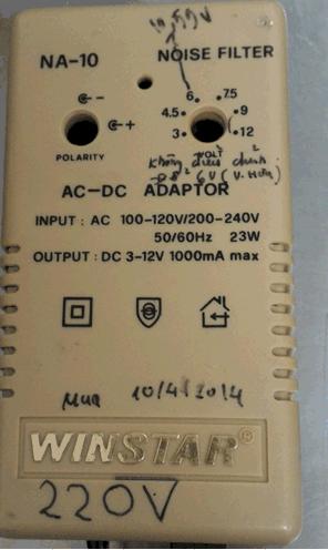 Adaptor NA-10 WINSTAR
