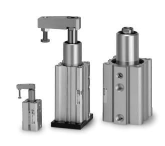rotary clamp cylinder MKG32-10RNZ-A93V SMC