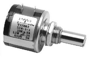Multi Turn Wirewound Potentiometer 534-1-1 1K ± 5 VISHAY