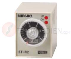 Timer 1h ~ 24h, 24VDC SHT-N-24H-24V (ST-n2) Sungho