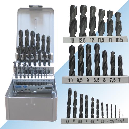 Nachi drill set HSS 1-13mm Nachi