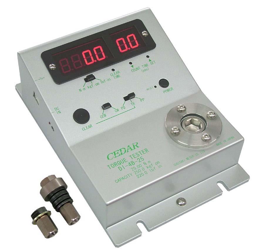 Torque tester 0.30 - 25 N・m DI-4B-25 Cedar