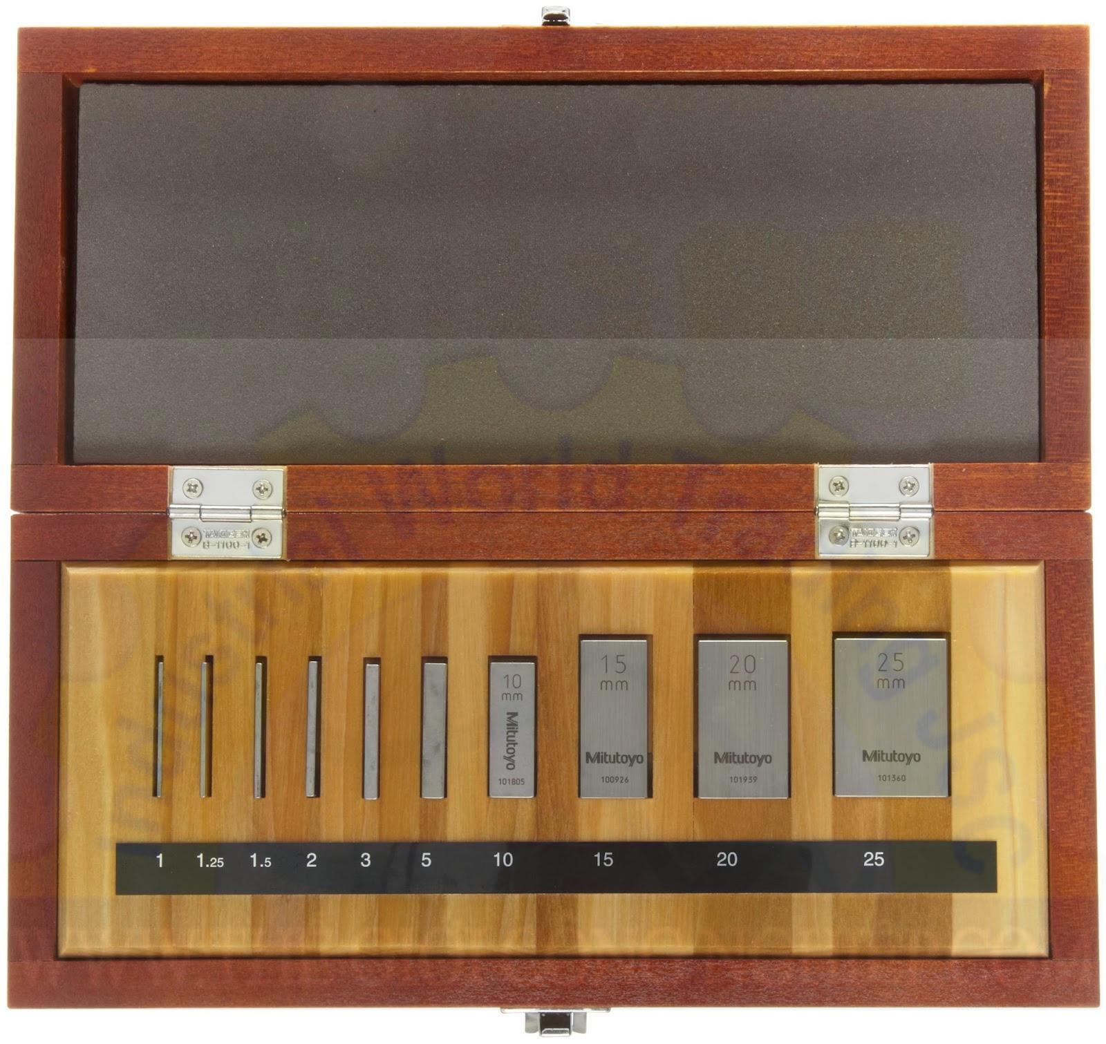 Block gauges 516-101-10 MITUTOYO