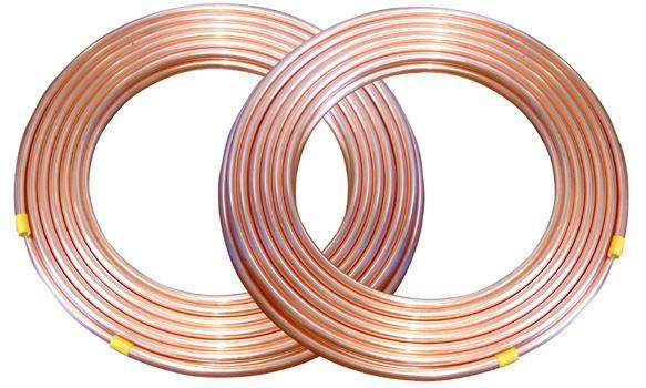 Cold copper tube Ø9.52mm x0.81mmx15m  TGCN-21068 HAILIANG