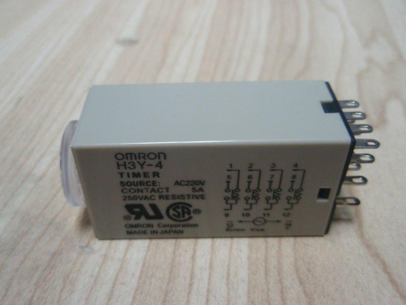 Timer H3Y-4 220VAC Omron