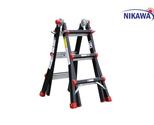 Aluminum ladder folding multi-purpose NKB-43 Nikawa
