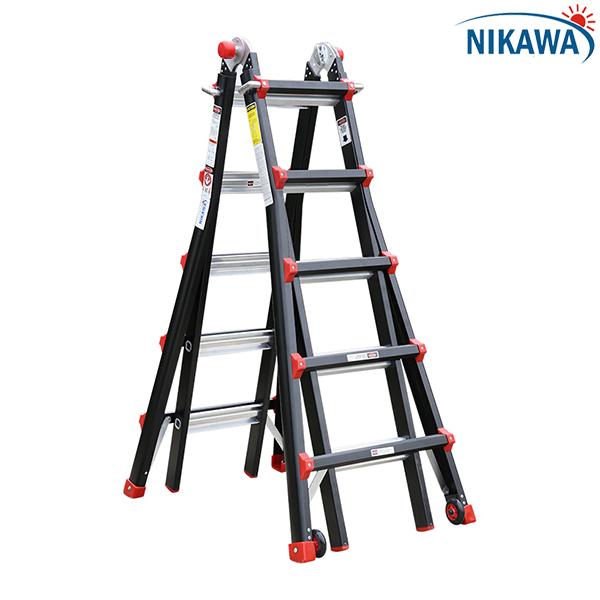 Aluminum ladder folding multi-purpose NKB-46 Nikawa