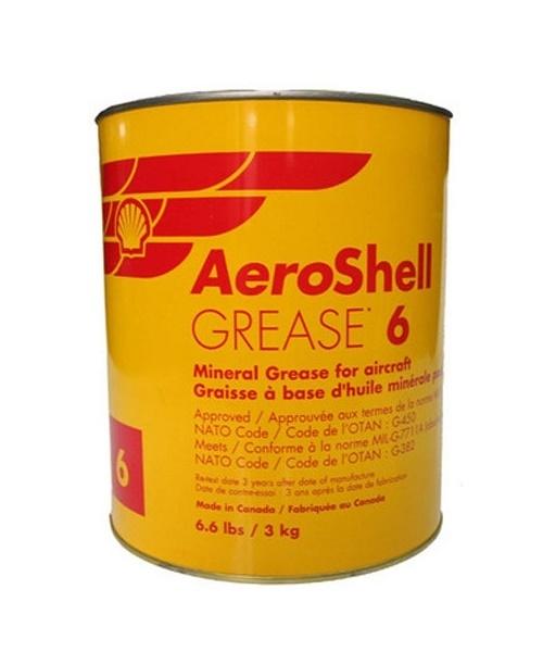 Bearing grease Greases No6 AEROSHELL