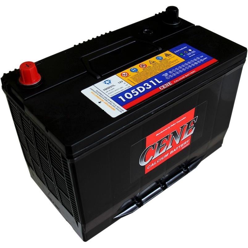 Dry battery pile sunk 105D31R/L-MF (90Ah) CENE