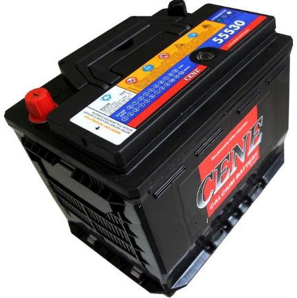 Dry battery pile sunk DIN 55530/65 (55ah) CENE