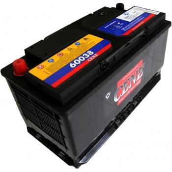 Dry battery pile sunk DIN 60038 (100ah) CENE