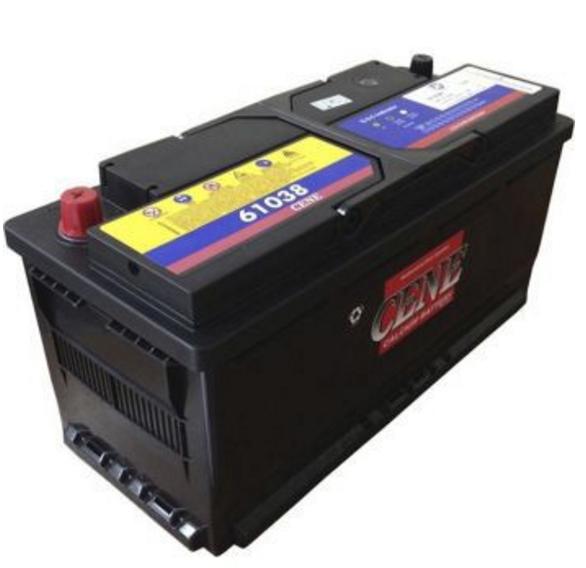 Dry battery pile sunk DIN 61038 (110ah) CENE