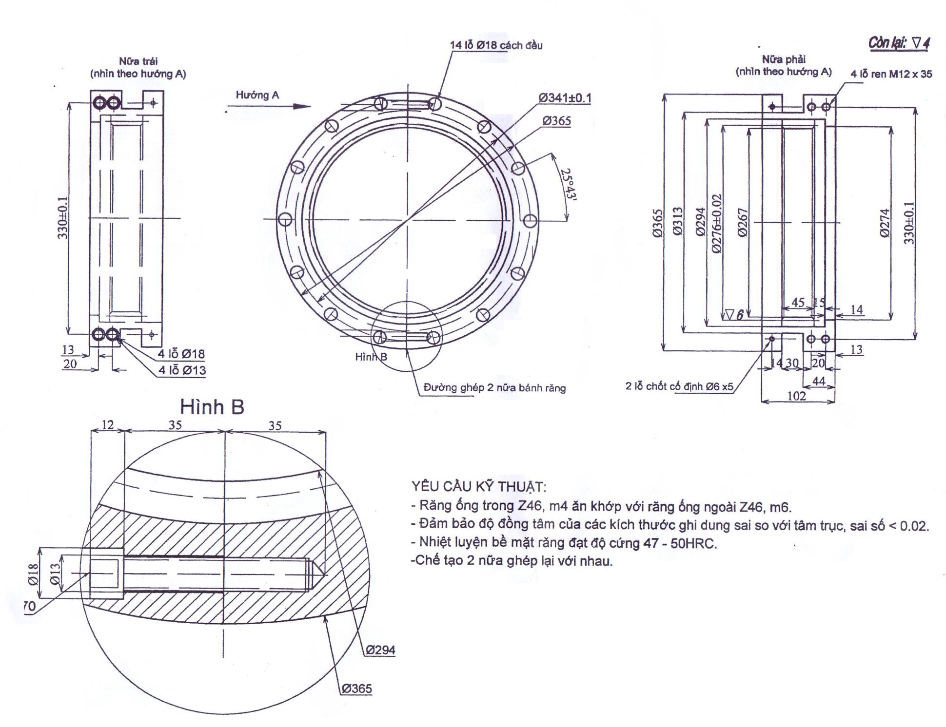 Gear motor C2 TGCN-24629 VietnamProcessing