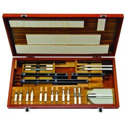 Rectangular Gage Block Accessories Set, Metric, 14 Pieces 516-602 MITUTOYO
