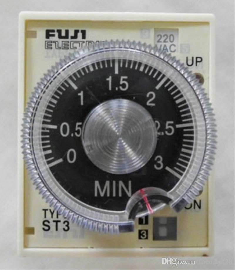 Timer 1s ~ 10s, 110VAC ST3 Fuji-Electric