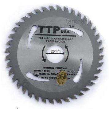 Aluminum saw blade 222-110040-3S-SSD3 TTPUSA