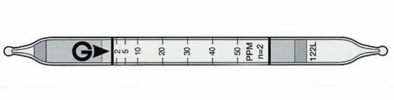 Benzene detector tube 121L Gastec