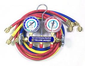 Cool gas charging clock 42004 YellowJacket