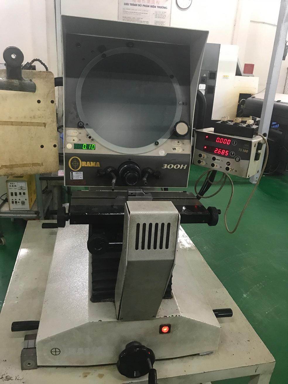 Maintenance Projector Profiles 300H-Maintenace ORAMA