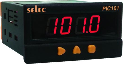 Clock display speed PIC101A-T-230 SELEC
