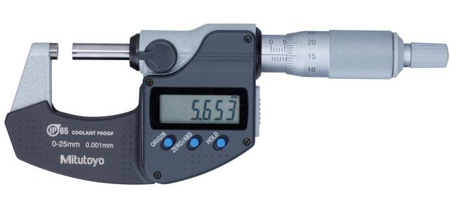 Coolant Proof Micrometer  293-344-30 MITUTOYO