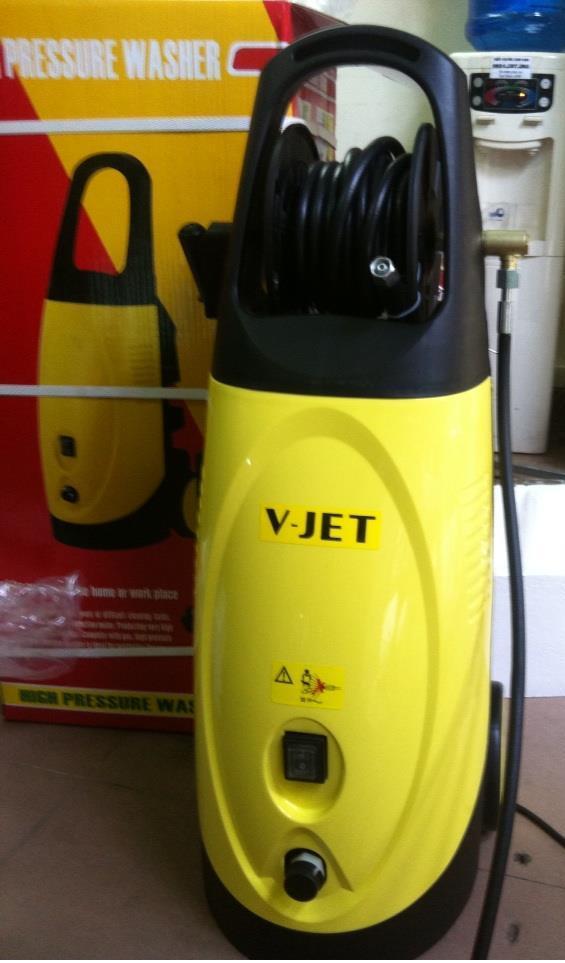Hot water high pressure washer VJ 110P V-JET