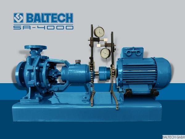 Machine alignment SA-4000 CALIBRATION BALTECH