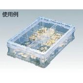 PVC plastic bucket 424mm x 291mm x 10,25mm 501-0390 F - 1TM Trusco