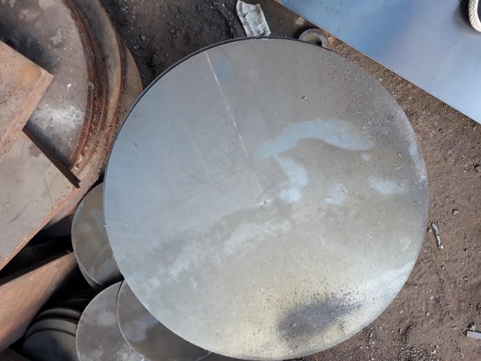 Flat steel sheet ct3 ø200 mm x ø330 x 100 mm TGCN-30129 VietnamSteels