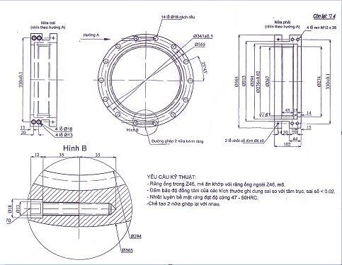 Gear motor c2 TGCN-29307 VIETNAMPROTECTIONS