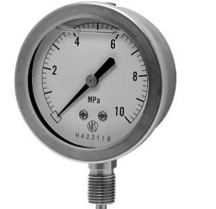 Pressure Gauge ( Cút 3/8) GV-51-183 / 0~0.1MPa Nagano-Keiki