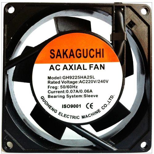 AC Axial Fan GH9225HA2SL SAKAGUCHI