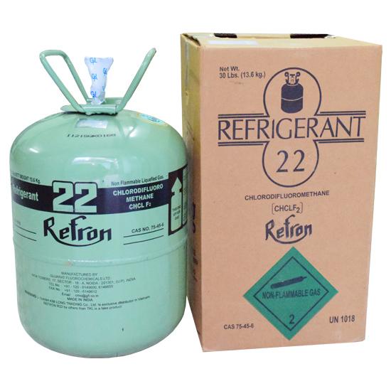 Gas R22 13.6kg Refron
