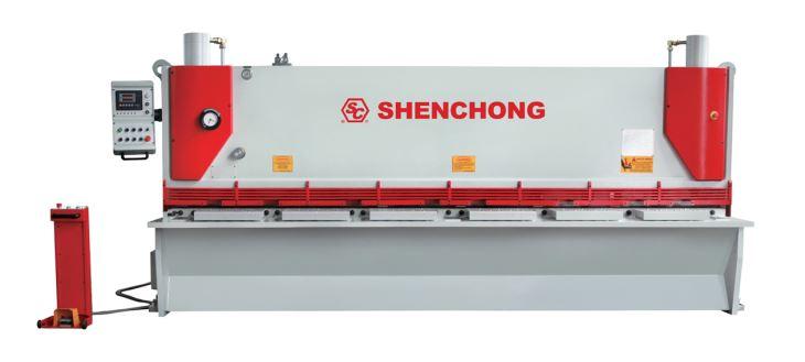 PLATE CUTTING  MACHINE QC11Y-8x2500 SHENCHONG