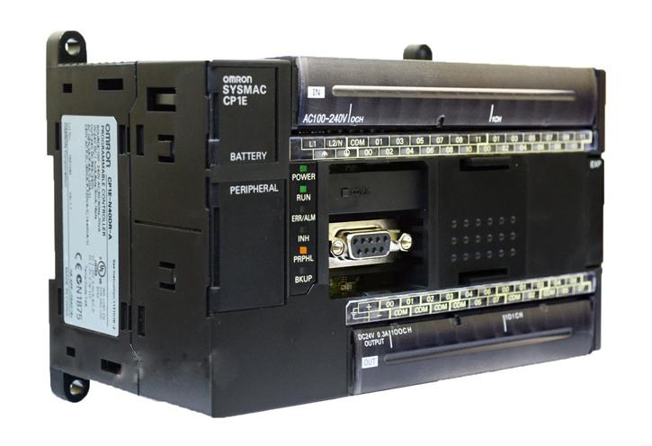 PLC programmable controller CP1E-N40DR-A Omron