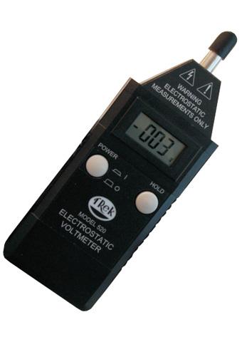 Hand-Held Non-Contacting Electrostatic Voltmeters  523-1-CE TREK