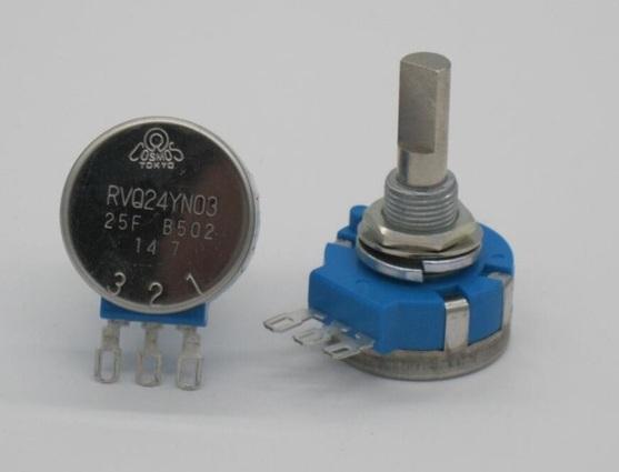 RVQ24YN03 25F B502 Potentiometer 5k Ohm Long Life Panel Pot Control for Cosmos Tocos