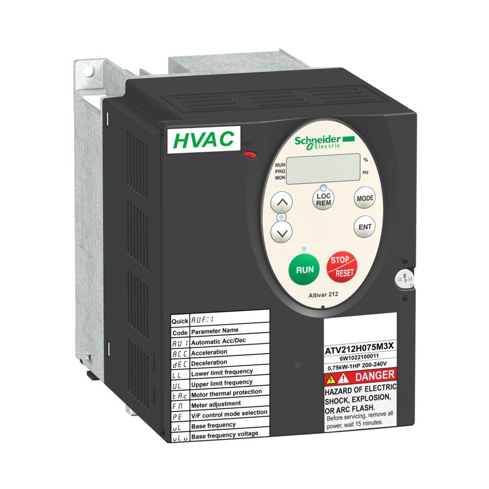 Inverter Atv212hu30n4 Schneider Electric 240 3 Phase Contactor Wiring